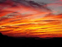 zalazak sunca, Nerežišća otok Brač slike
