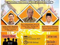 STADIUM GENERAL 2019 Optimalilasi Peran Generasi Z Menuju Indonesia Emas 2045