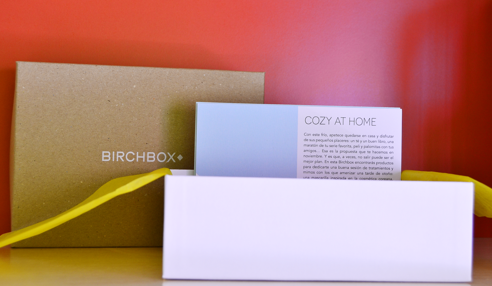 Birchbox Cozy at home