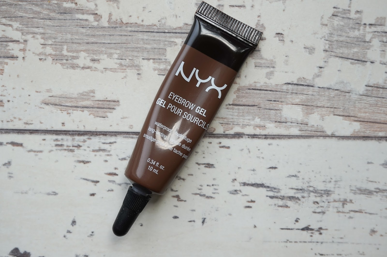 EYEBROW GEL IN ESPRESSO discoveriesofself blog swatches review nyx uk cosmetics