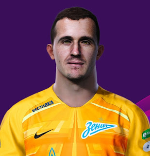 PES 2021 Faces Andrey Lunev by Korneev