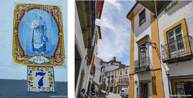 Ruas medievais de Évora, Portugal