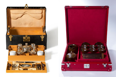 Custom-made Louis Vuitton Trunks for Tea!