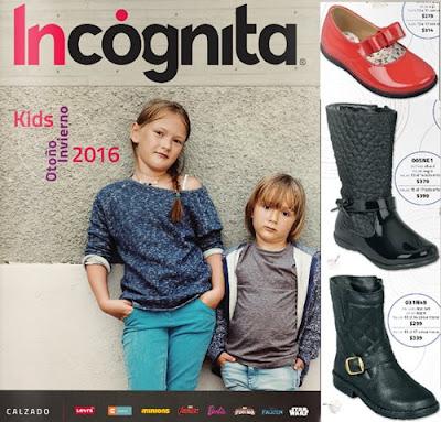 Calzado de Incognita Kids OI 2016