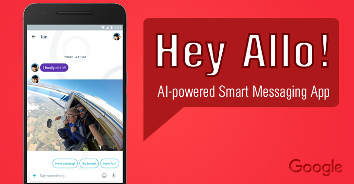 Hey Allo! Meet Google's AI-powered Smart Messaging App