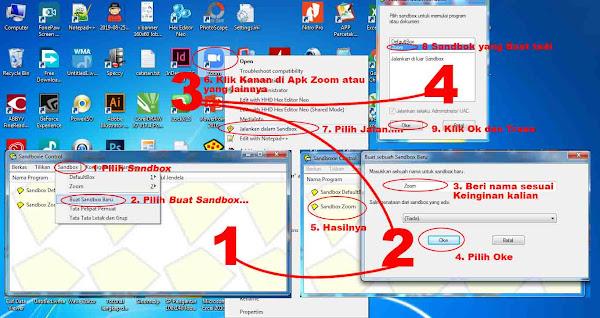 Cara gunakan Sandboxie 5.30 Full Version