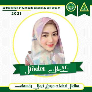 Twibbon IPNU IPPNU Idul Adha 1442 H 1