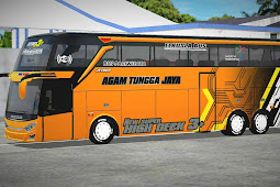Bus 3 New ATJ Orange by Prabushare