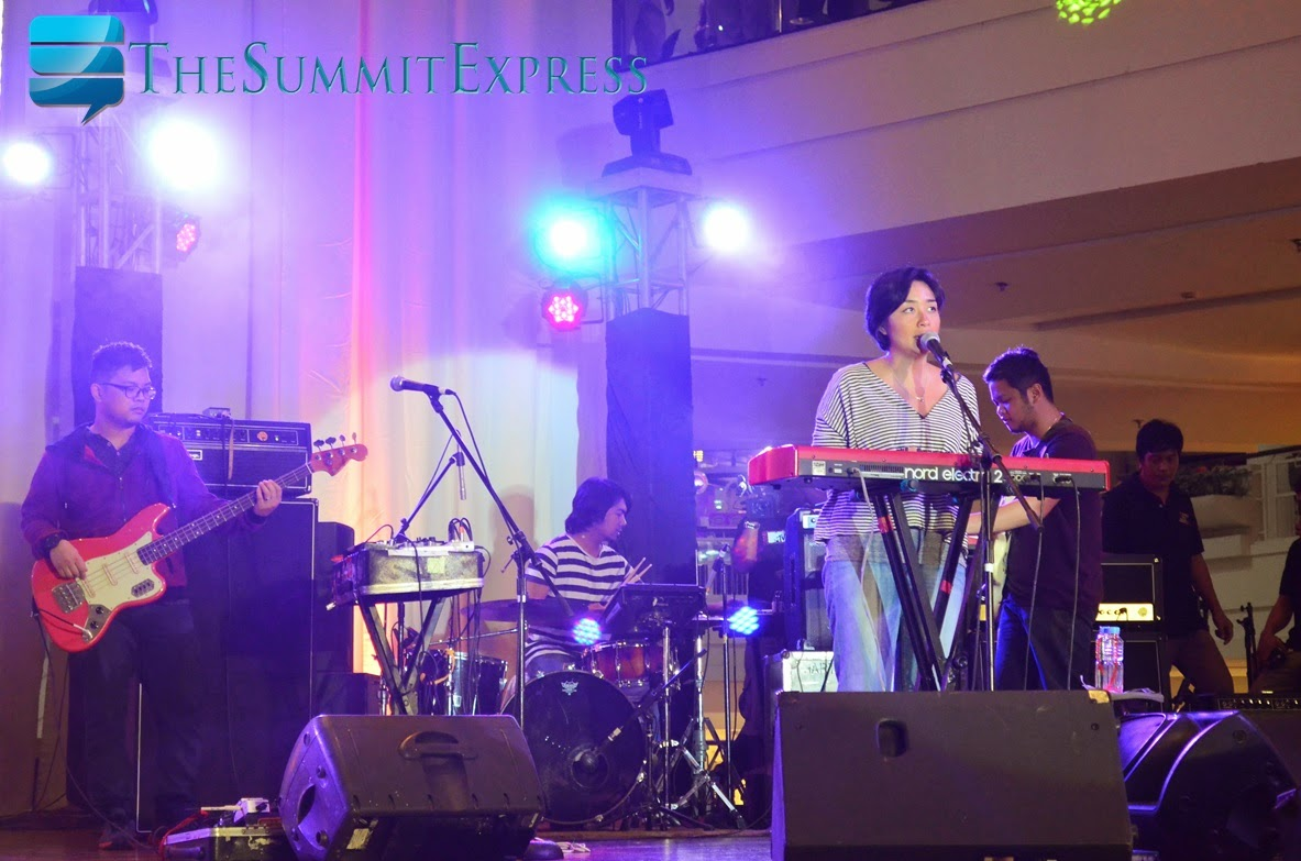 Filipino rock band Up Dharma Down Glorietta