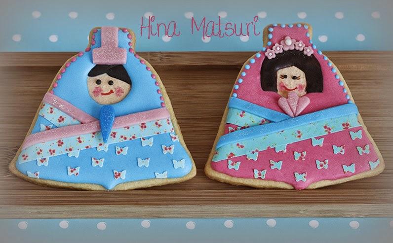 Hina Matsuri cookies