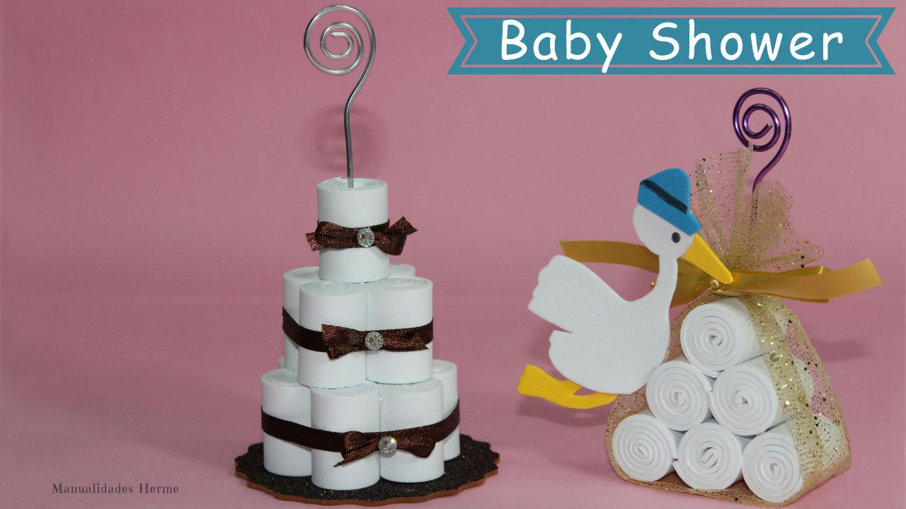 Manualidades herme detalles baby shower - Detalles para baby shower ...