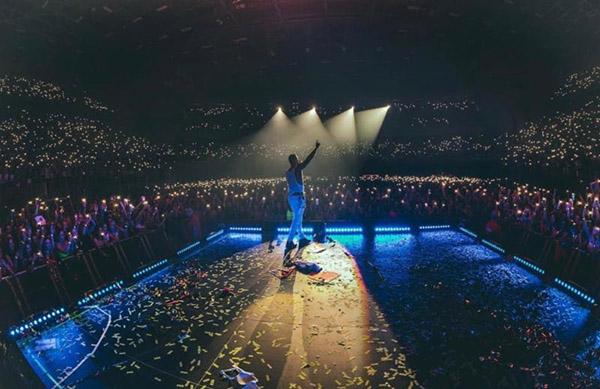 Maluma-rompe-record-show-Marruecos