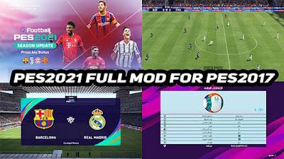 Full Graphic Mods PES 2021