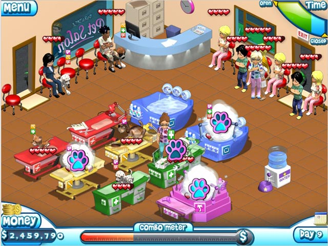 Paradise Pet Salon Full Version