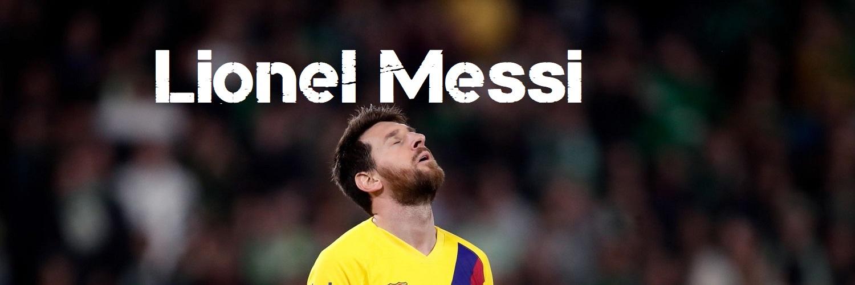Lionel Messi Twitter Header 1500 x 500