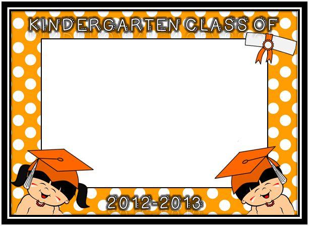 Graduation Picture Frame Freebies!!!! - Little Warriors