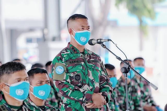 Satgas MTF TNI Kontingen Garuda XXVIII-M UNIFIL Terima Pengarahan Kadiskesal