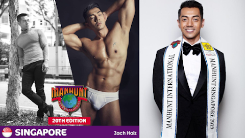 Zach Haiz es Manhunt Singapore 2019
