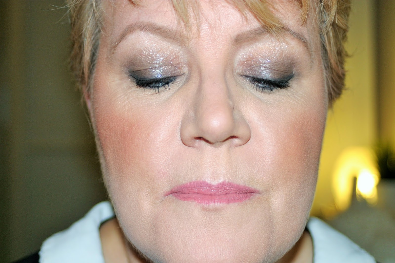 Smokey eye mature skin