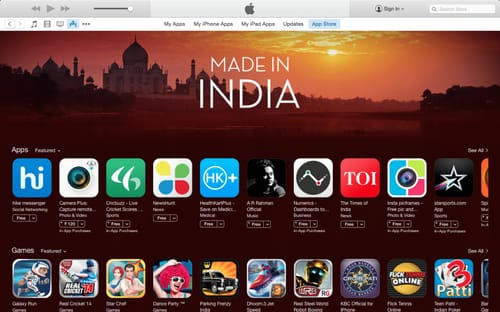 India is ready to open its own app store