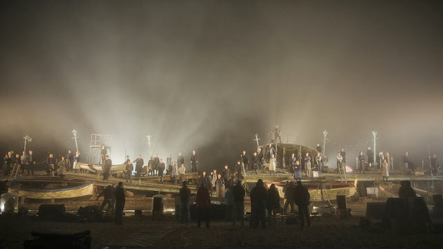 Britten: Peter Grimes staged on Aldeburgh Beach in 2013