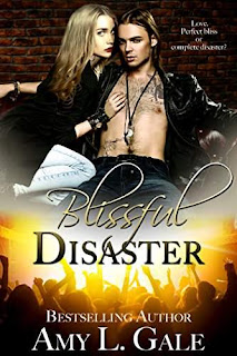 Blissful Disaster - a steamy rock star romance by Amy L. Gale
