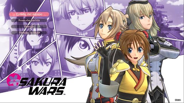 Sakura Wars Capítulo 3 El Festival de la Paz Elise Lacelot Yui