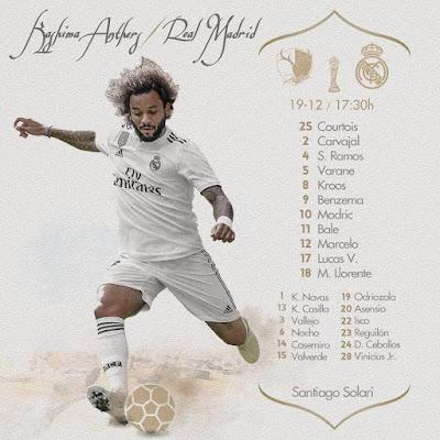 Kashima Antlers vs Real Madrid 2018