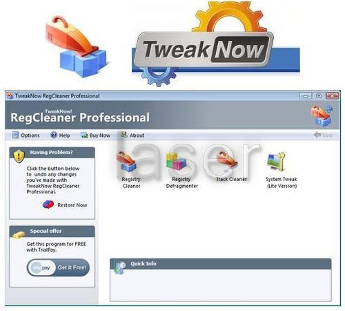 Download TweakNow RegCleaner 2012 7.2.5 Full Version | Free Download Full Version Software