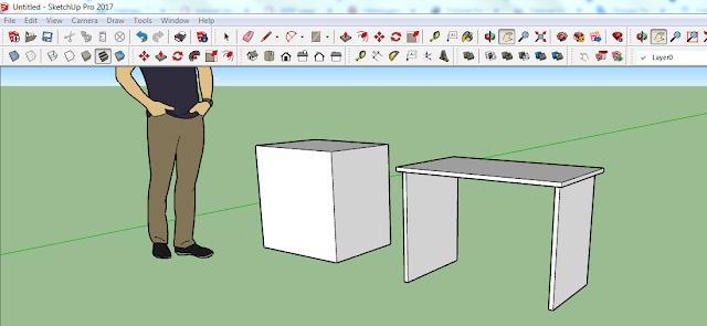 Tutorial Sketchup Dasar untuk Pemula