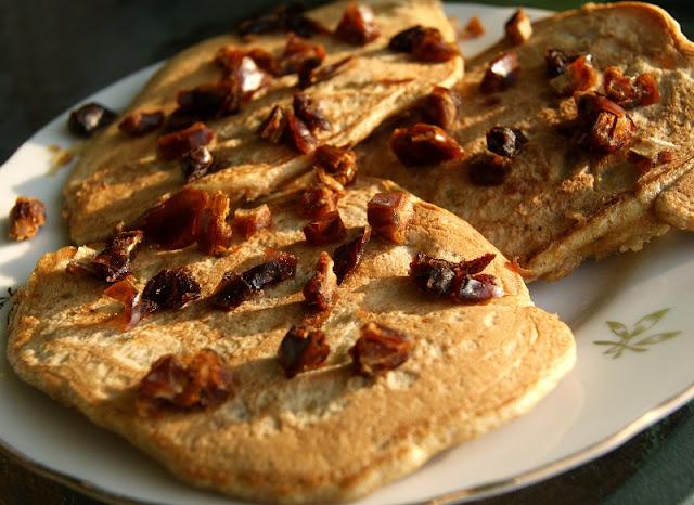 pancake z daktyle