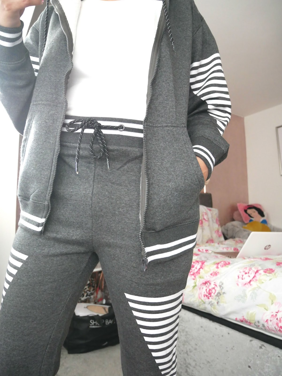 femmeluxe grey loungewear