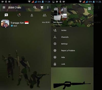 BBM Mod ARMY v2.13.1.14 Apk