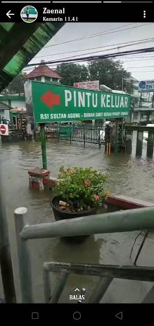Semarang Masih Banjir, Rumah Sakit Sudah 3 Hari Terendam