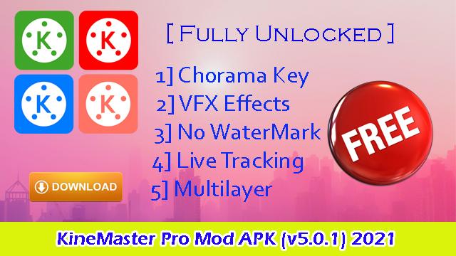 Download Free KineMaster Pro Mod APK (v5.0.1) 2021