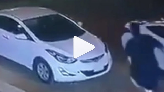 CAR THIEF RAMS ON OWNER IN A VIRAL VIDEO OF SAUDI ARABIA