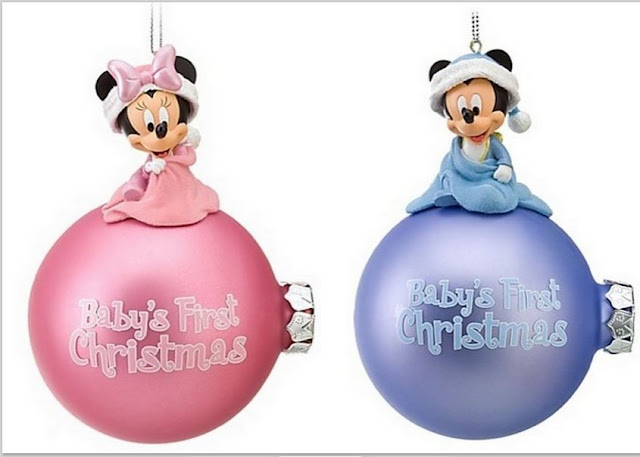 Free Mickey and Minnie First Christmas Bombs.