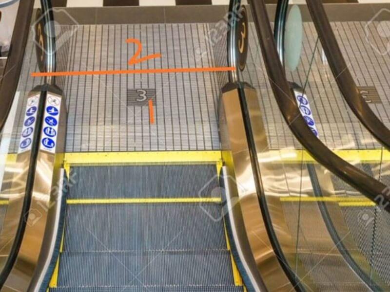 Penutup Eskalator