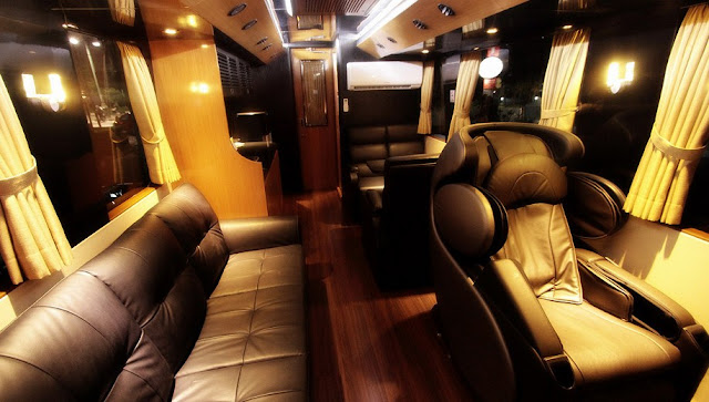 bus mewah am trans luxurious