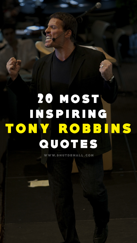 20 Most Inspiring Tony Robbins Quotes