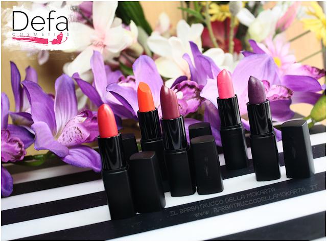 recensione Defa cosmetics lipstick