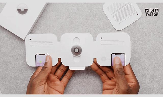 ربط الـ AirTag بهاتف iPhone