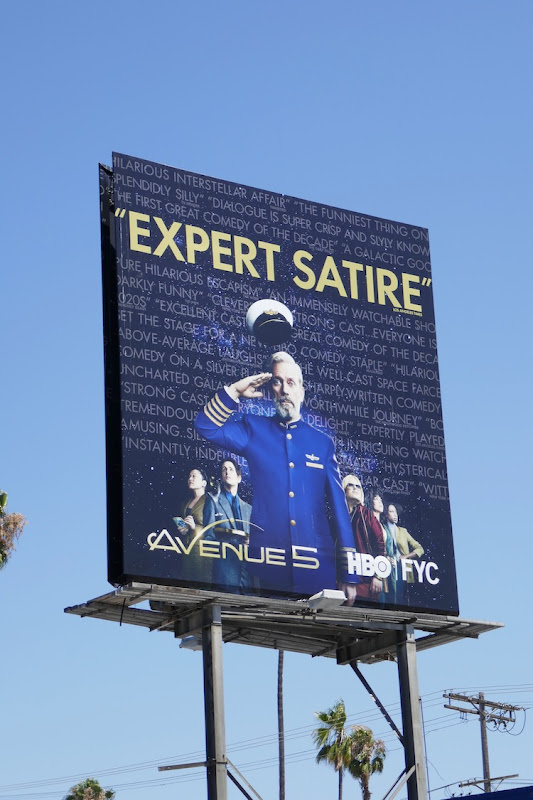 Avenue 5 Emmy 2020 FYC billboard