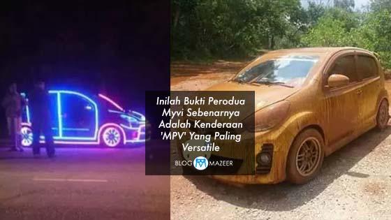 Inilah Bukti Perodua Myvi Sebenarnya Adalah Kenderaan 'MPV' Yang Paling Versatile