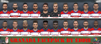 PES 2017 Facepack Granada 2019 by Eddie Facemaker