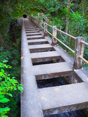 Bridge to Tiu Kelep Waterfall