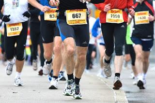 coureurs du marathon