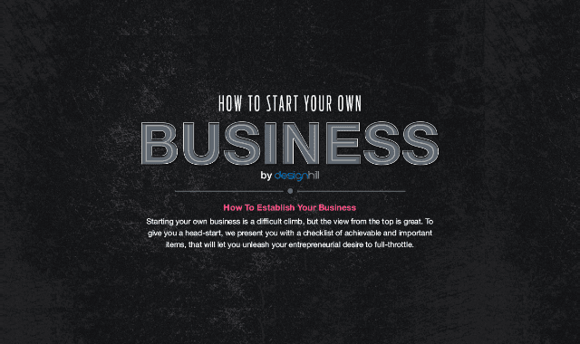 How To Establish Your Own Business