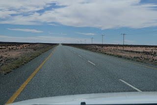 The N 14 in South Africa from Springbok to Pofadder