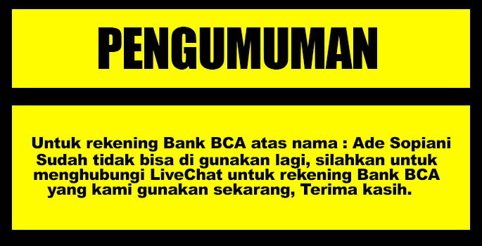 BCA Tidak Aktif Lagi